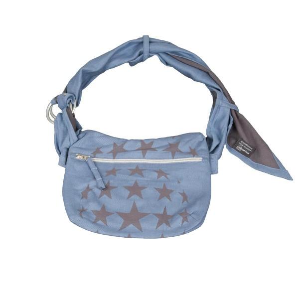Hoppediz SlingBag Hüft-Tasche Los Angeles blau