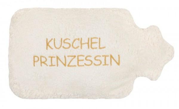 """Efie Wärmekissen Dinkel-Wärmflasche weiß """"Kuschel Prinzessin"""""""
