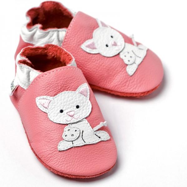 Liliputi Krabbelschuhe Pink Pussycat