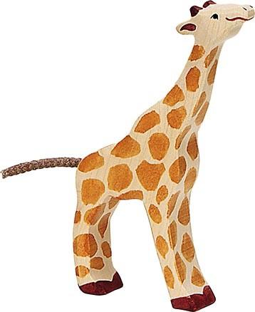 Giraffe, klein, fressend