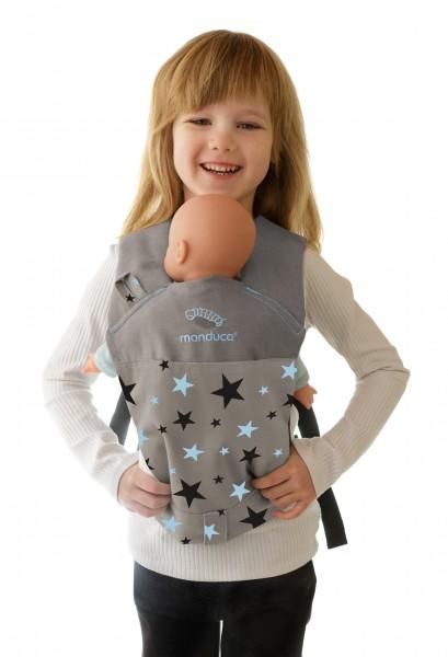 manduca ® DollCarrier Cotton Starlets blue