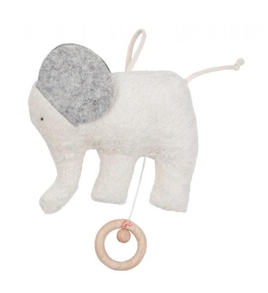 Efie Spieluhr Elefant graue Ohren Melodie: Lalelu