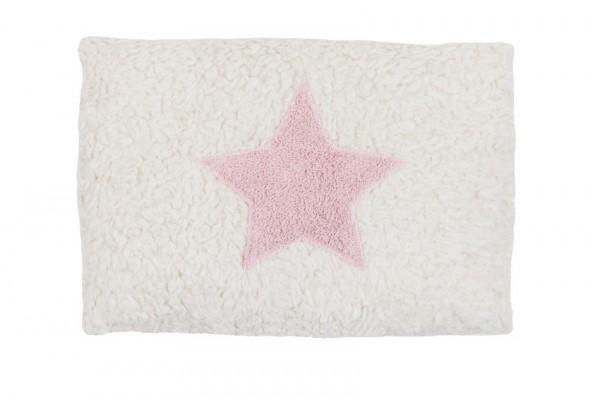Efie Kissen klein Stern rosa