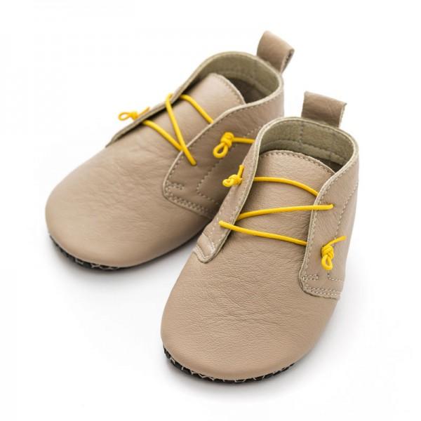 Liliputi® Krabbelschuhe Soft Paws Baby Shoes Urban Latte