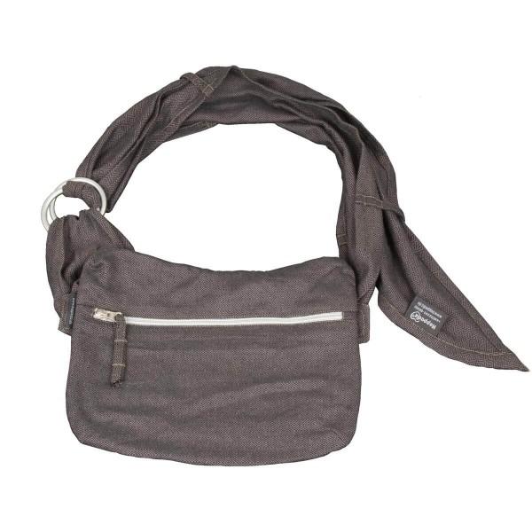 Hoppediz SlingBag Hüft-Tasche London schwarz grau