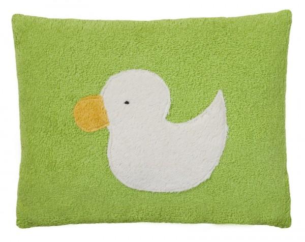 Efie Kissen Ente grün