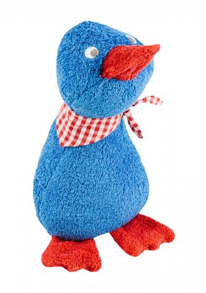 Efie Schmusetier Ente groß, blau