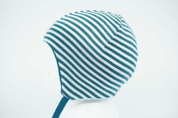 Pickapooh Übergangsmütze für Babys Radler türkis/natur