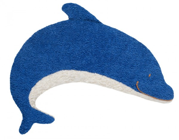 Efie Wärmekissen Dinkelkorn Delfin