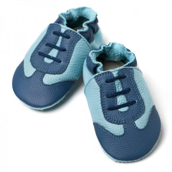Liliputi Krabbelschuhe Sport Blue