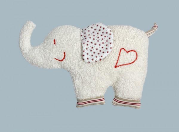Efie Wärmekissen Elefant mit Kirschkernen