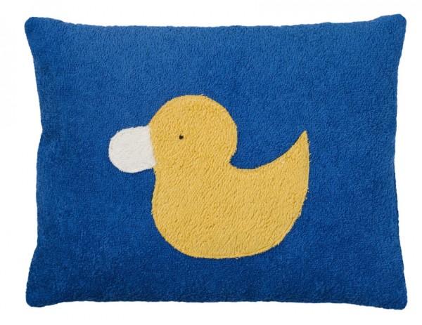 Efie Kissen Ente blau