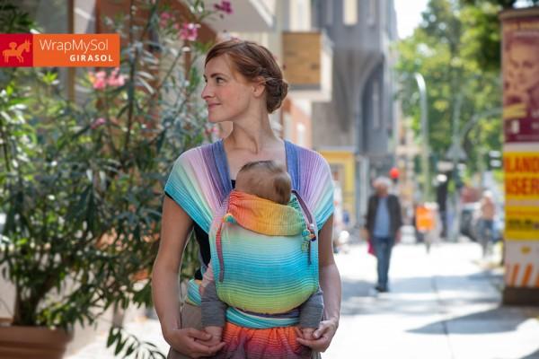 Girasol Wrap MySol Rainbow Dreamer Schnallenhüftgurt