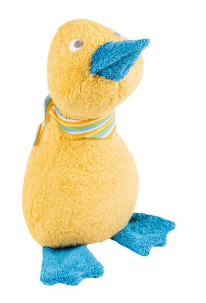 Efie Schmusetier Ente groß, gelb