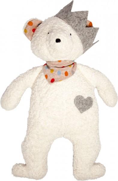 Efie Schmusetier Spieltier Teddy mit Krone