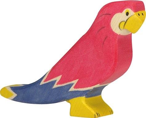 HOLZTIGER Papagei