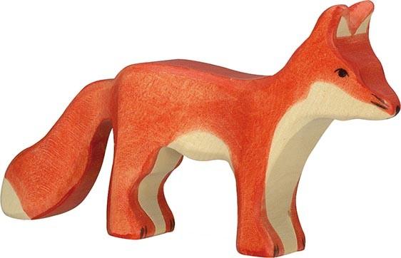 HOLZTIGER Fuchs, stehend