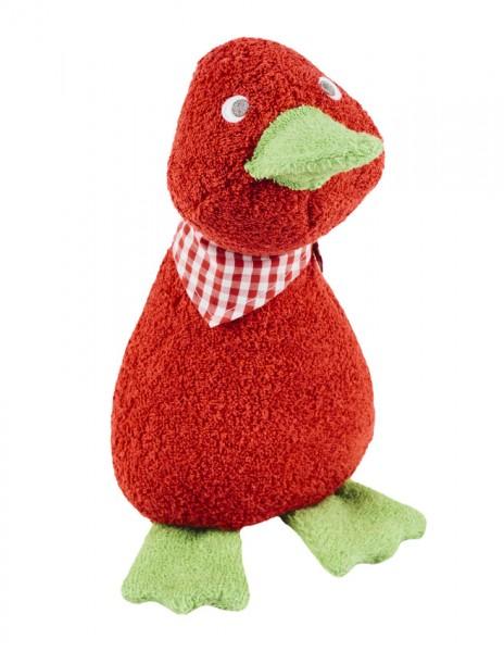 Efie Schmusetier Ente groß, rot