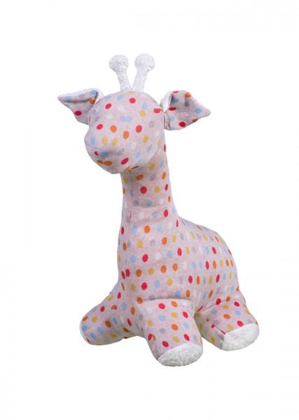 Efie Schmusetier Giraffe mit Punkten ca. 30cm