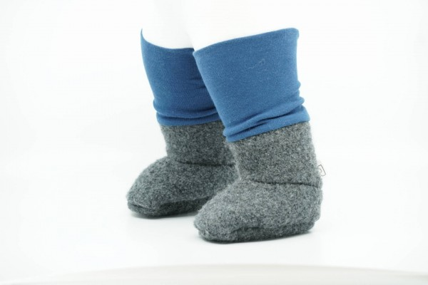 Rockzipfel Tragestiefel mit Wollfleece-Futter dunkelblau