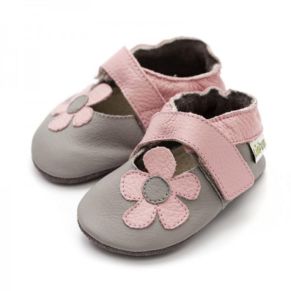 Liliputi® Krabbelschuhe Soft Baby Sandals Kalahari Grey